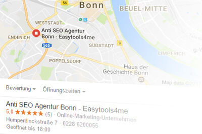 N1 SEO Agentur Bonn - Webdesign Bonn - Top-Rankings local SEO