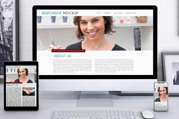 Website Friseur, SEO Homepage Erstellung für Friseure - Beauty & Wellness