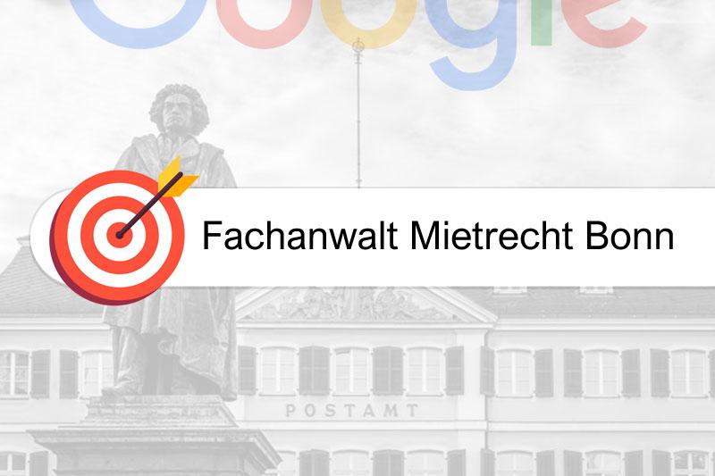 Fachanwalt Mietrecht Bonn - Google #1 sicher