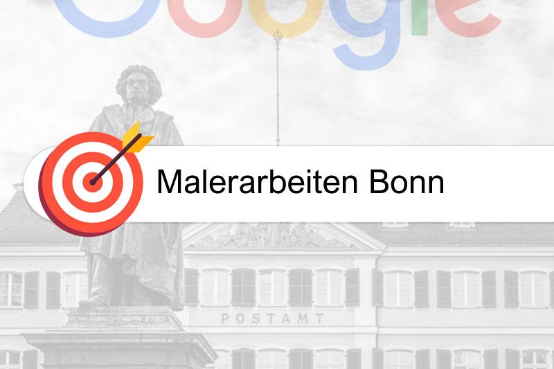 Malerarbeiten Bonn - Gezielte SEO - Suchmaschinenoptimierung