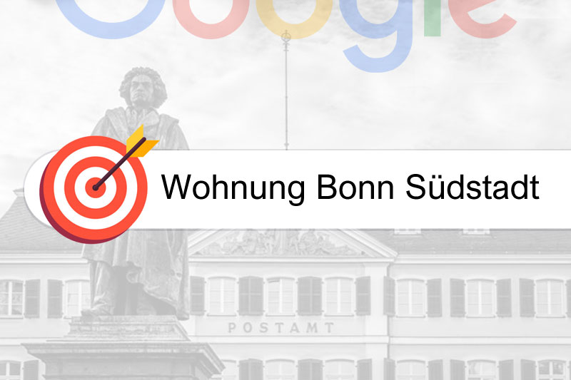 Wohnung Bonn Südstadt - Gezielte Google Rankings
