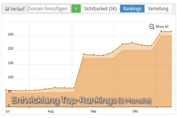 Entwicklung-Top-Rankings-SEO-Ergebnisse-3-Monate