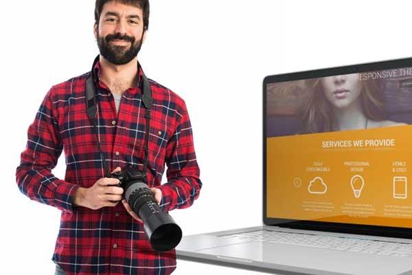 Fotografie-Website von Profis erstellen lassen für mehr Online Kunden