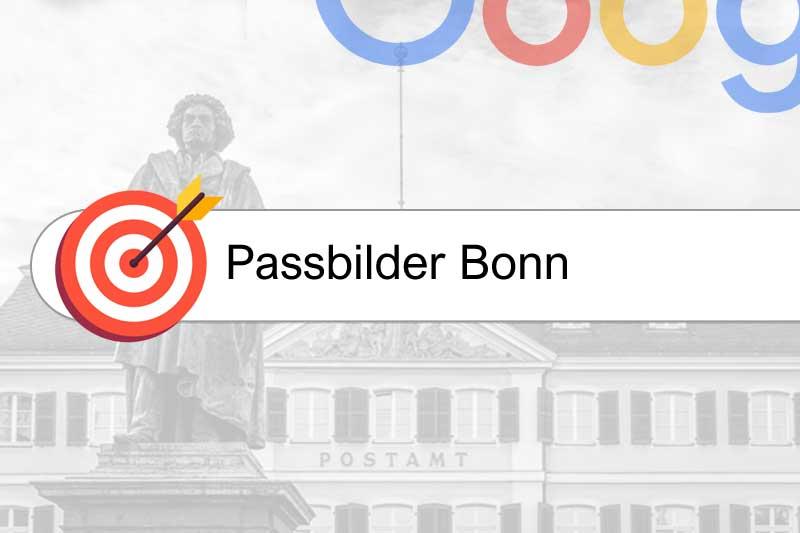 Passbilder Bonn - Einfache Suchmaschinen-Platzierung für Fotografen in Bonn